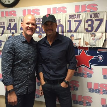 LISTEN: Tim McGraw Joins Drew In Studio To Chat Cubs, Music & Much More!