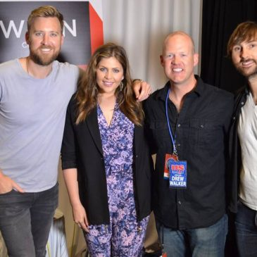 LISTEN: Lady Antebellum Calls Drew To Talk Lake Shake, SnapChat Face Swap & More!