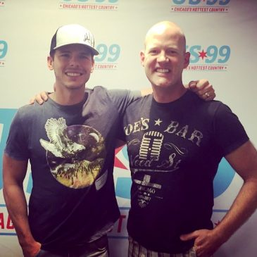 Granger Smith Joins Drew In-Studio To Chat Chicago, Kids, His Farm & More!