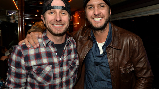 WATCH: Luke Bryan & Dierks Bentley Have A Friendly Co-Host Competition!