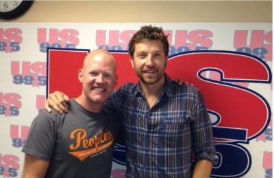 Brett Eldredge Calls Drew To Chat About Life & His New Album Out Today!