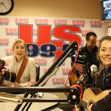 Trending Today: Maddie & Tae New Album, Taylor Honors, RaeLynn In Studio 99-5
