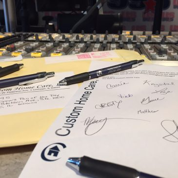 Drew's #PenOfTheDay – Custom Home Care in Chicago